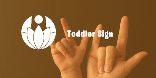 Toddler Sign A 3 Week Series
