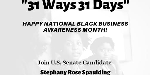 """""""31 Ways 31 Days"""" Listening Event with Local Black Businesses."""