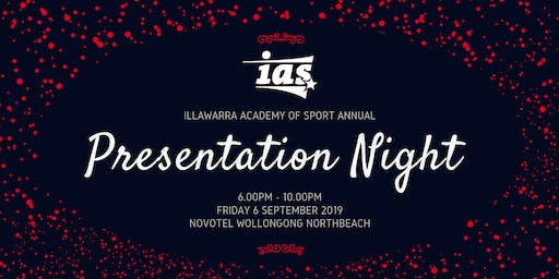 Illawarra Academy of Sport 2019 Presentation Night