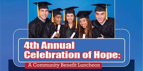 4th Annual Celebration of Hope Benefit Luncheon Hosted by Let's Talk America Radio  tickets