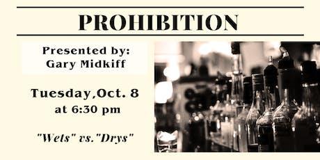 Prohibition tickets
