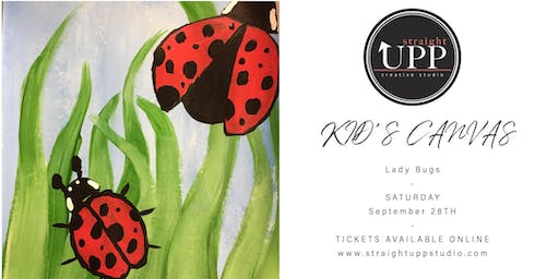 KID'S CANVAS | Lady Bugs
