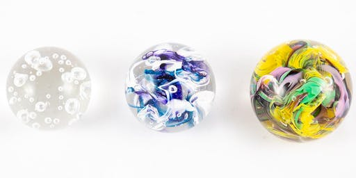 Glass Blowing Level One Workshop: Paperweights | 2020