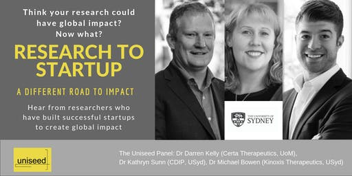 Research to Startup: A different road to impact