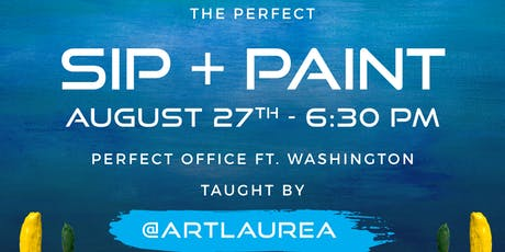 The Perfect Paint & Sip Wine Event  tickets