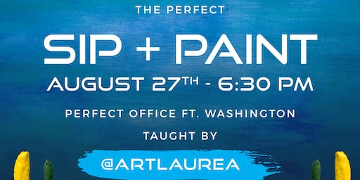 The Perfect Paint & Sip Wine Event