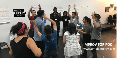 FREE Improv for People of Color Workshop (10/22) tickets