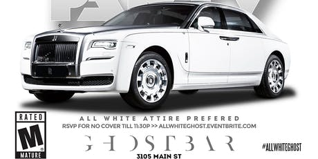 All White Party at GHOST BAR tickets