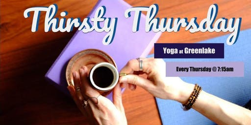Thirsty Thursday Yoga