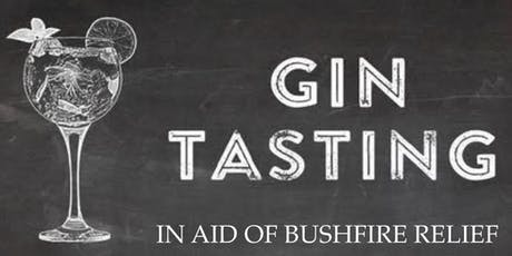 Gin Tasting in support of Bushfire relief tickets