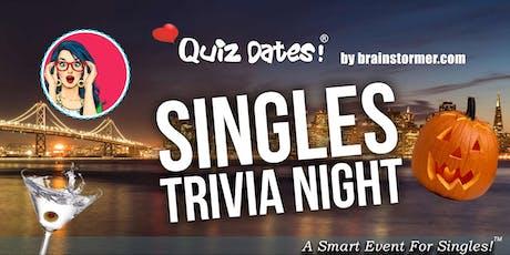 SINGLES Trivia Night in San Francisco! tickets