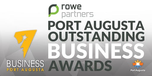 Rowe Partners Port Augusta Outstanding Business Awards 2018/19