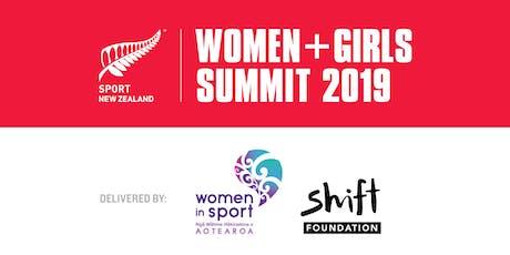 Sport NZ Women + Girls Summit 2019 tickets