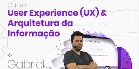 Curso: User Experience (UX) & Arquitetura da Informação ingressos