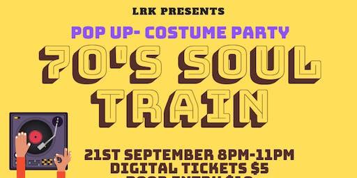 Pop Up/ Party 70s soul train.
