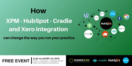 How XPM-HubSpot-Cradle and Xero integration can change the way you run your practice tickets