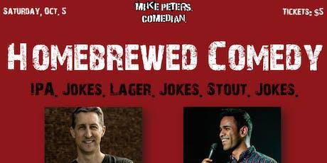 Homebrewed Comedy at Galaxy Brewing Company tickets