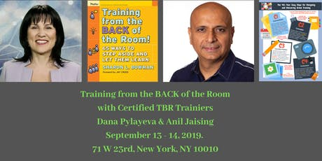 Training from the Back of the Room in NYC tickets