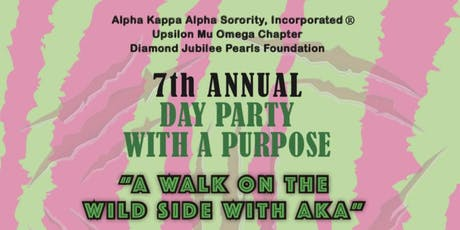 Party With a Purpose 2019: A Walk on the Wild Side with AKA tickets