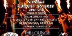 Sip N Scents Candle Bar Party The Lounge