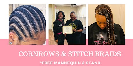 CORNROWS & STITCH BRAIDS tickets
