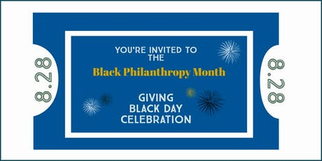 Giving Black Day Celebration tickets