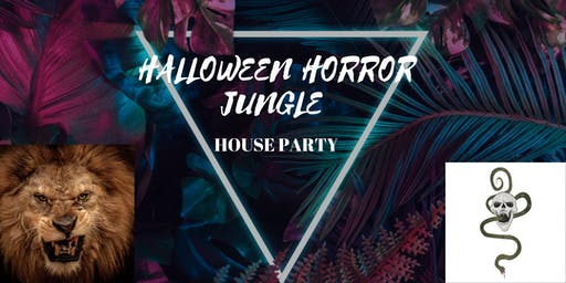 HALLOWEEN HORROR JUNGLE PARTY HOLLYWOOD