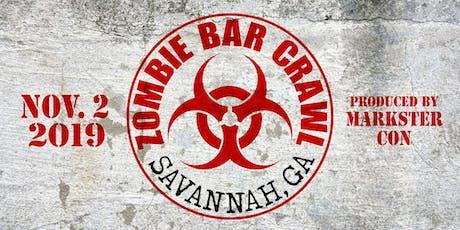 Zombie Bar Crawl (Savannah, GA) tickets