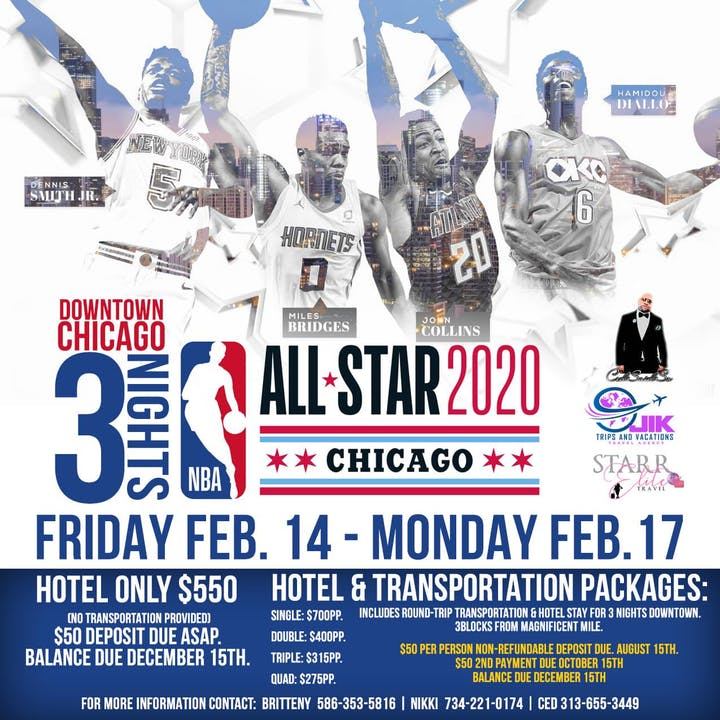 Star Events 2020.Nba All Star 2020 In Chicago
