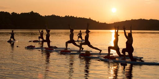 SUP YOGA on Buhlow