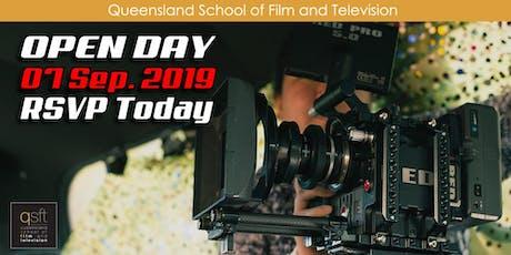 QSFT MEDIA & FILM SCHOOL OPEN DAY - Saturday, 7th September 2019 tickets