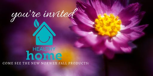 Healthy Home - Come See the new Norwex Fall Products