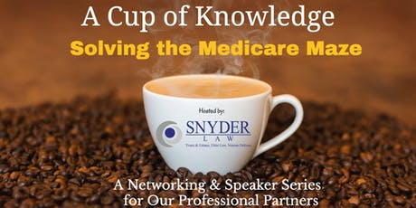Cup of Knowledge Networking & Speaker Series  (September 2019)  tickets