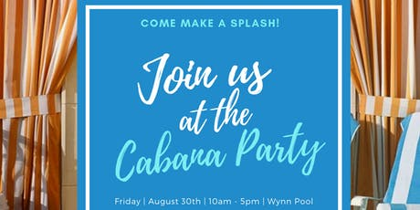 Cabana Pool Party tickets