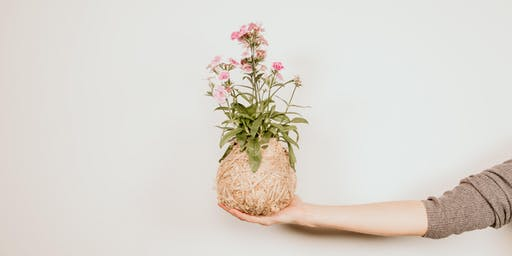 Sunday Crafternoons | Mini Kokedama
