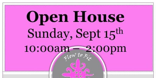 Flow to Fit Yoga's 4th Annual Open House!
