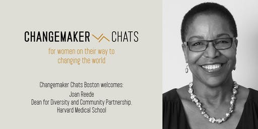 Boston Changemaker Chat with Joan Reede of Harvard Medical School