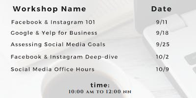 Social Media Classes for Small Business