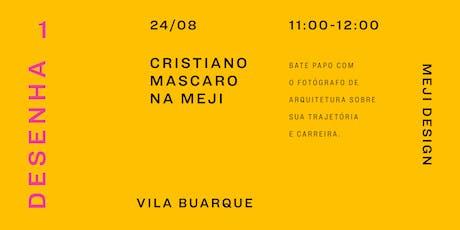 Talk  com Cristiano Mascaro na Meji Design tickets