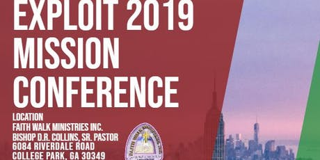 Exploit 2019 Mission Conference tickets