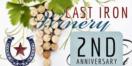 Cast Iron Winery 2nd Anniversary Pick Up Party tickets