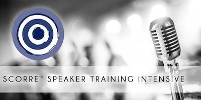 SCORRE™ Intensive Speaker Training, Minneapolis: Nov 18th-20th