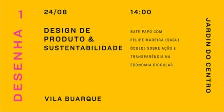 Talk: Design de Produto & sustentabilidade ingressos