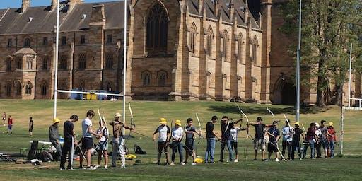 Archery - University of Sydney Wellbeing Group Fitness