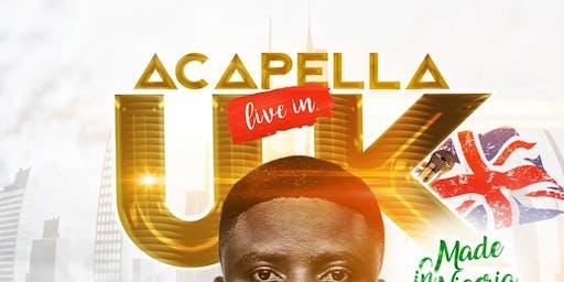 Acapela Live On Stage Glasgow