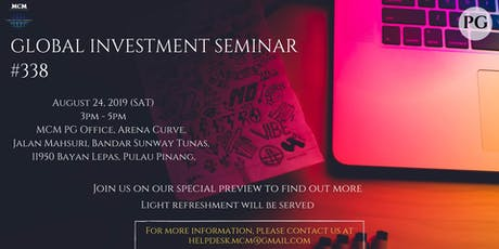 Global Investment Seminar #388 tickets