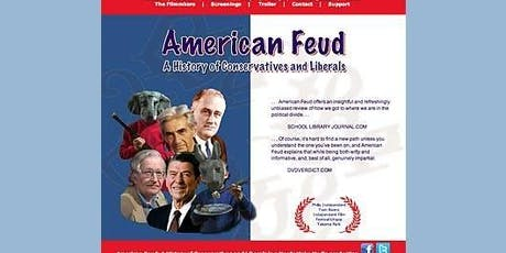 """Screening and discussion with the filmmakers of """"American Feud"""" tickets"""