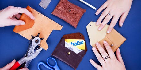 Make a Custom Leather Wallet tickets