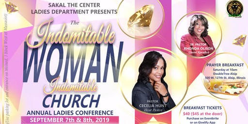 "SAKAL Ladies Conference  2019 - ""Indomitable Woman / Indomitable Church!"""