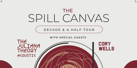 The Spill Canvas with Cory Wells and The Juliana Theory, @ Barracuda Austin tickets